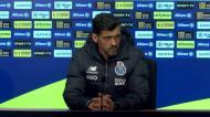 «Pepe está a evoluir bem, Zaidu vai ser difícil estar apto»