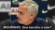 Mourinho foi interrompido por uma máquina de lavar e reagiu assim