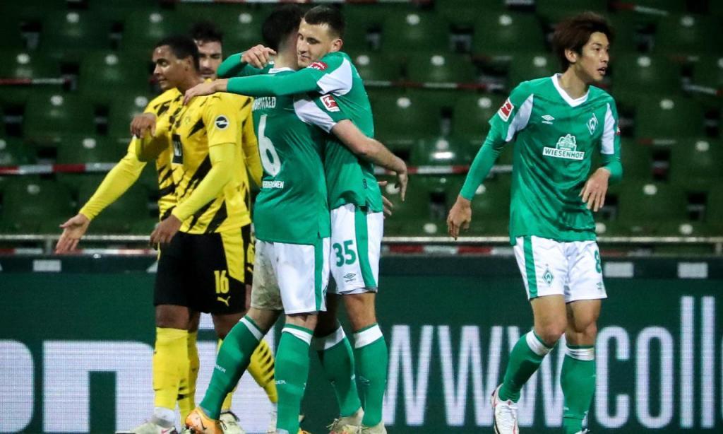 Werder Bremen-Borussia Dortmund (Lusa)