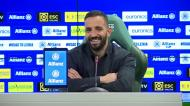 «Sou uma pessoa com sorte e dou-me bem com a Taça da Liga»