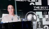 The Best: Lucy Bronze, luso-inglesa, vence o prémio de melhor jogadora de 2020 (Valeriano Di Domenico/AP)