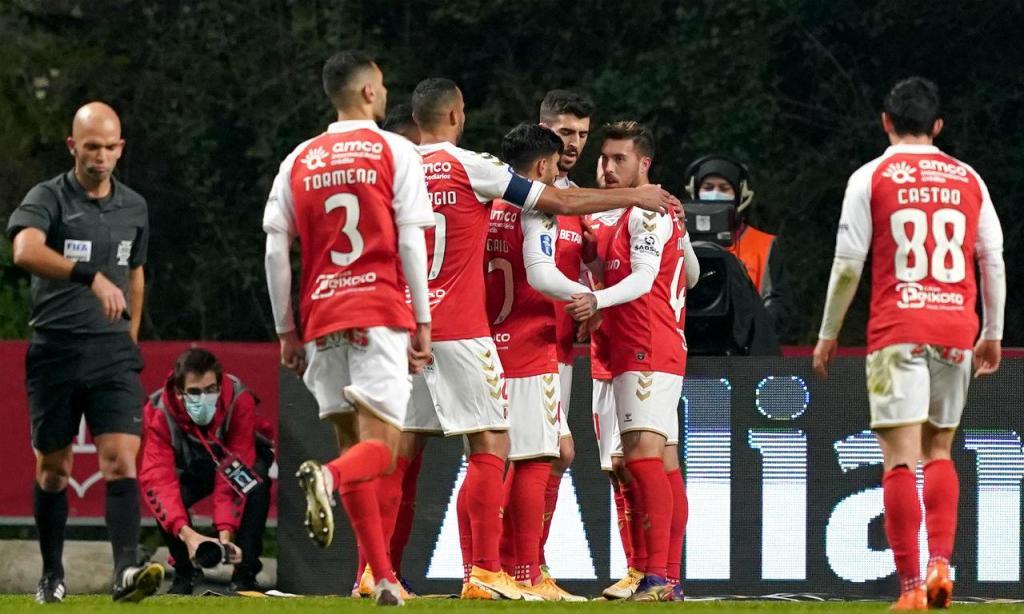 Sp. Braga venceu Estoril na Taça da Liga