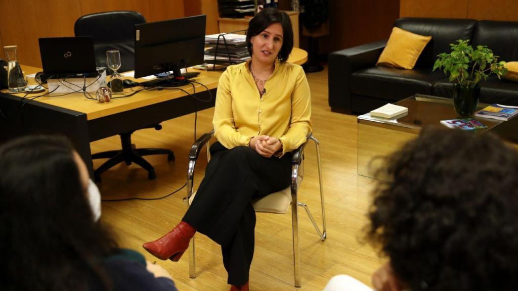 Cláudia Pereira - secretária de Estado para a Integração e as Migrações