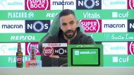 Amorim explica situações distintas de Nuno Mendes e Jovane