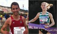Samuel Barata (Benfica) e Carla Salomé (Sporting) são campeões nacionais de 10.000 metros