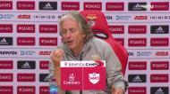 «Só há uma equipa em Portugal a jogar melhor do que o Benfica»