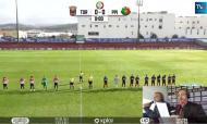 Treinador do Torreense viu o jogo do hospital (facebook)