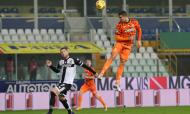 Parma-Juventus: Cristiano Ronaldo fez o 0-2 no marcador (Elisabetta Baracchi/EPA)
