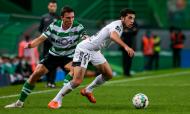 Sporting-Farense: Bilel e João Palhinha (José Sena Goulão/LUSA)