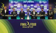 Sorteio da «final four» da Taça da Liga (foto: Liga)