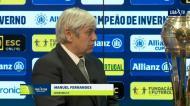 Manuel Fernandes: «O Sporting tem pergaminhos na Taça da Liga»