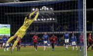 As imagens do Everton-Manchester United