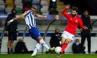 FC Porto-Benfica: Pepe e Rafa (LUSA)