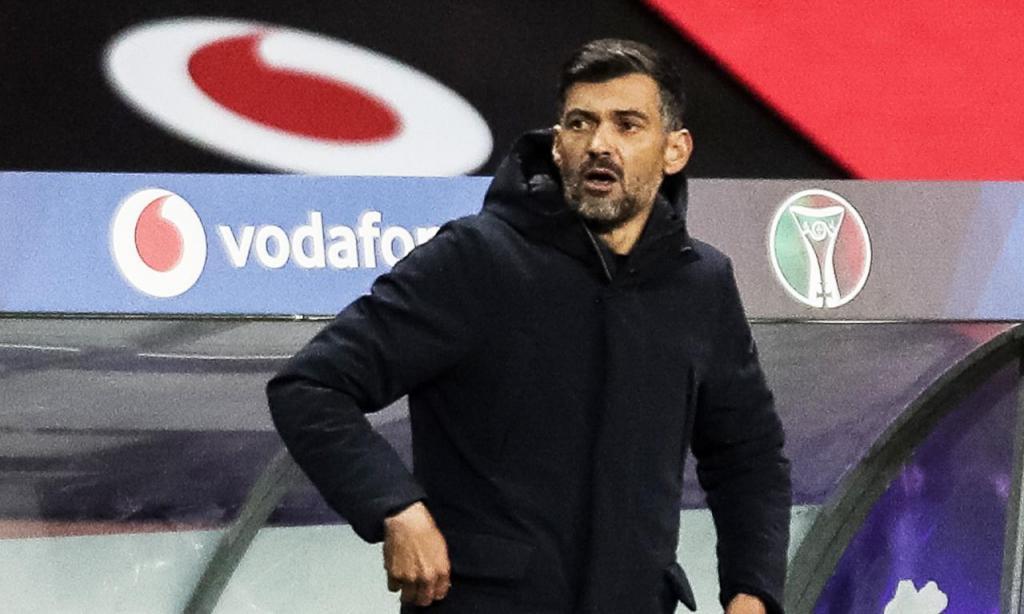 Sérgio Conceição no FC Porto-Benfica (LUSA)