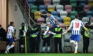 FC Porto-Benfica: portistas festejam o 2-0 final de Luis Díaz na Supertaça (LUSA)