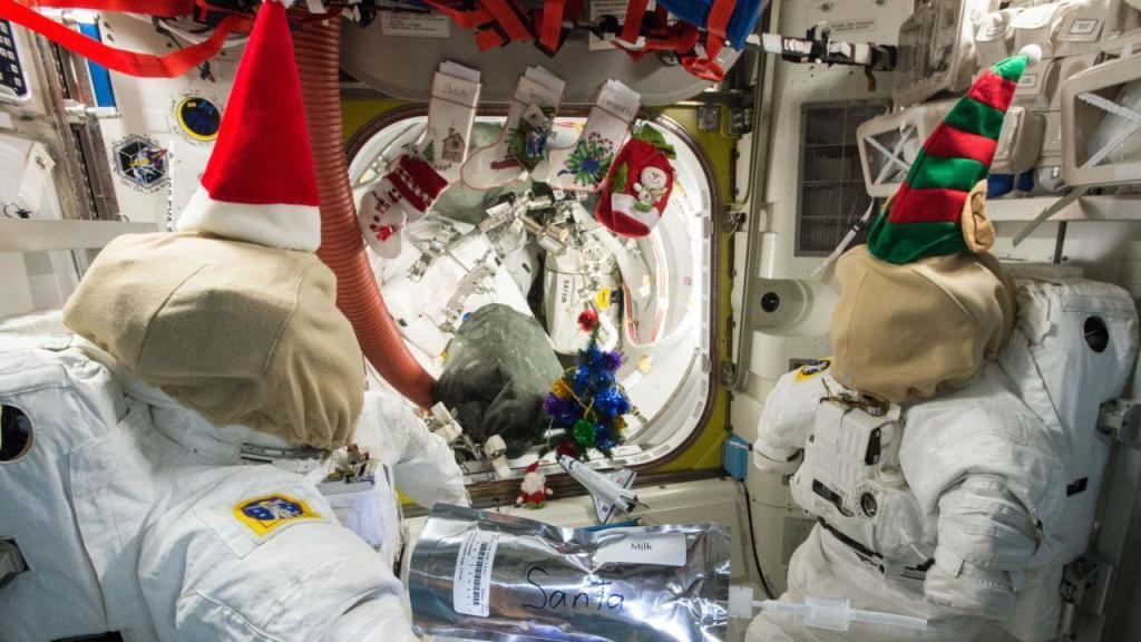 Natal dos astronautas da Estação Espacial Internacional
