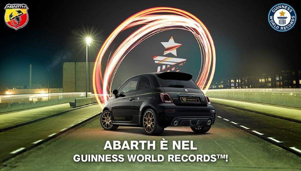 Abarth entra no livro do Guinness