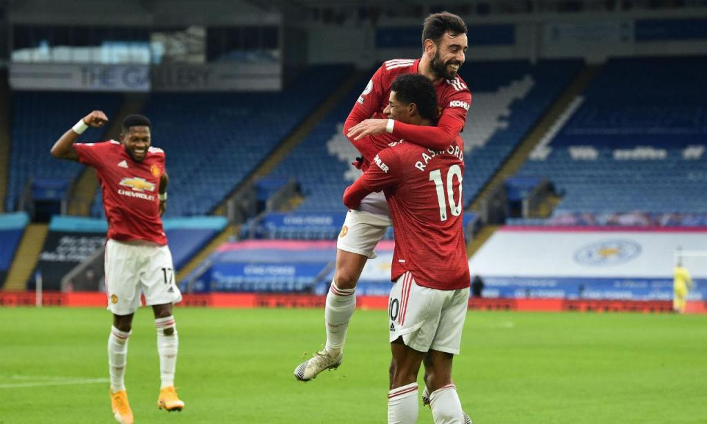 Leicester-Man Utd (EPA)