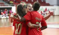 Futsal feminino do Benfica 2020/2021 (SL Benfica)