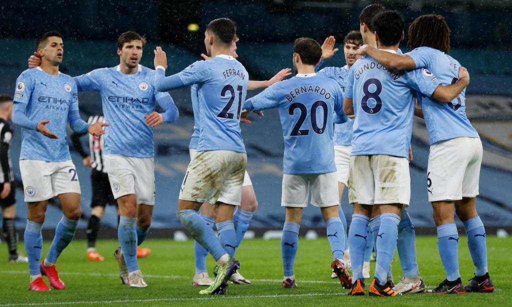 Manchester City (Clive Brunskill/AP)
