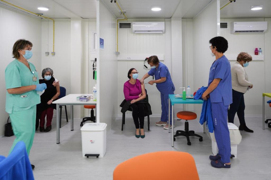 Covid-19: vacinação em Portugal