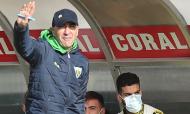 Nacional-Tondela: treinador Pako Ayestarán (Homem de Gouveia/LUSA)