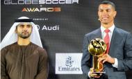Cristiano Ronaldo eleito «Jogador do Século» (foto: Globe Soccer Awards)