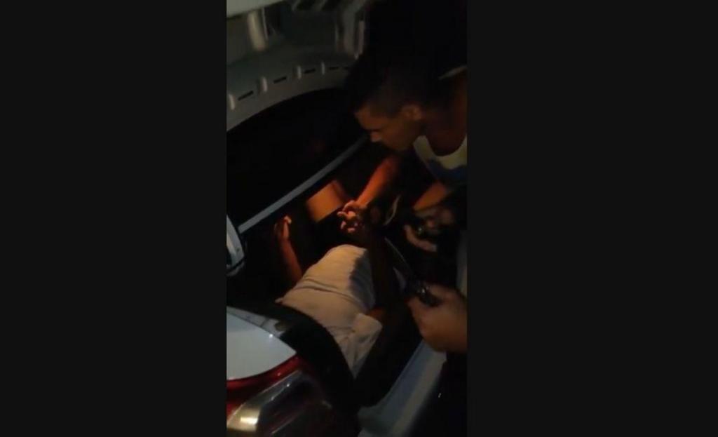 Sequestro de motorista no Brasil