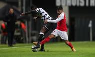 Boavista-Sp. Braga: lance entre Alberth Elis e Ricardo Esgaio (Estela Silva/LUSA)