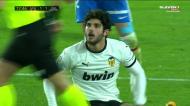 Guedes é expulso e deixa o Valência a jogar com nove em Granada