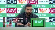 «Não justificámos a eliminação da Liga Europa com a covid-19»
