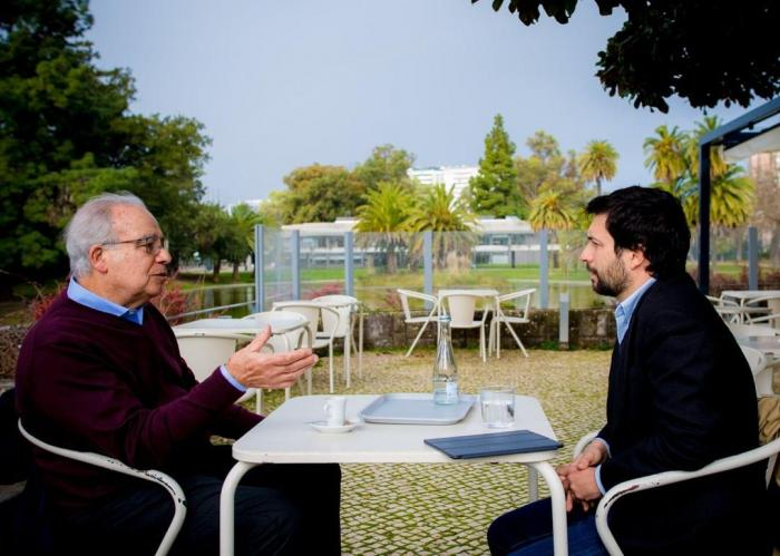 João Ferreira com Carvalho da Silva,