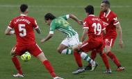 Dérbi entre Betis e Sevilha acabou com empate
