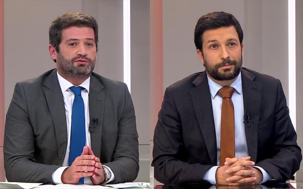 André Ventura e João Ferreira