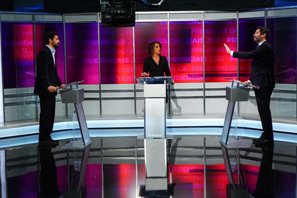 Presidenciais: debate entre João Ferreira e André Ventura