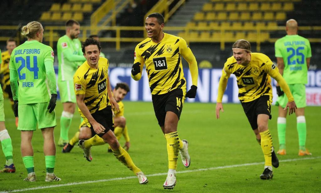 Dortmund venceu o Wolfsburgo