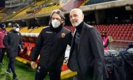 As imagens do Benevento-Milan (EPA/MARIO TADDEO)