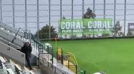 Muito vento, mas boa visibilidade na Choupana para o Nacional-Sporting
