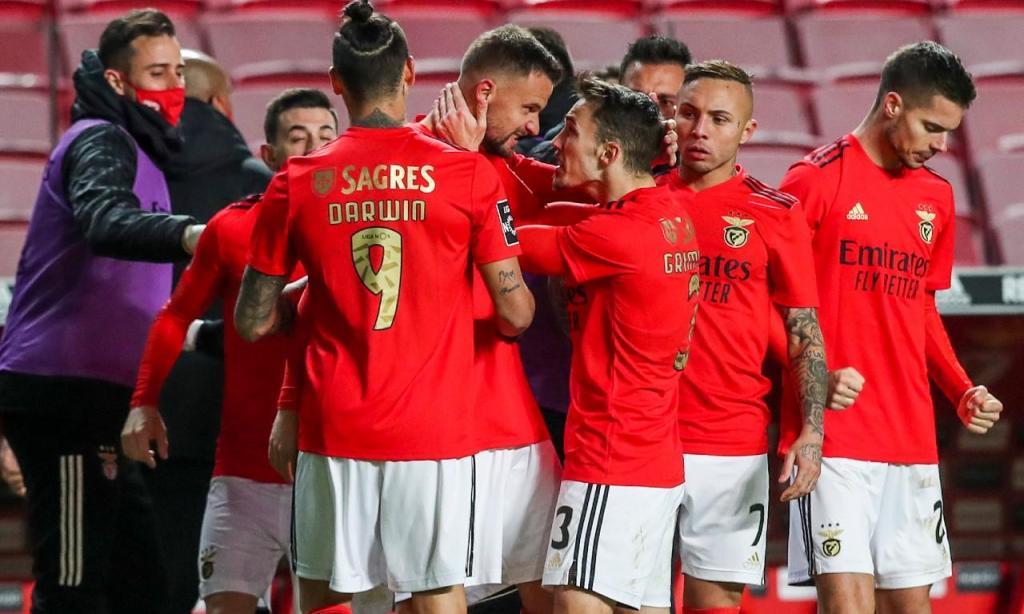 Benfica-Tondela (José Sena Goulão/Lusa)