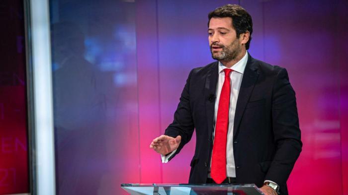 As imagens do debate entre Ana Gomes e André Ventura na TVI