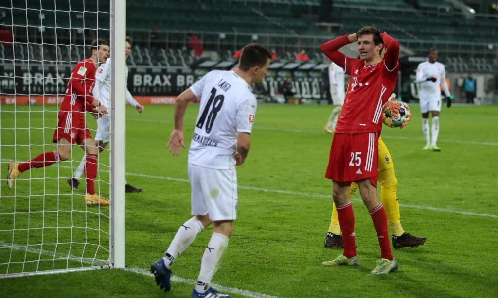 Bayern surpreendido em Mönchengladbach