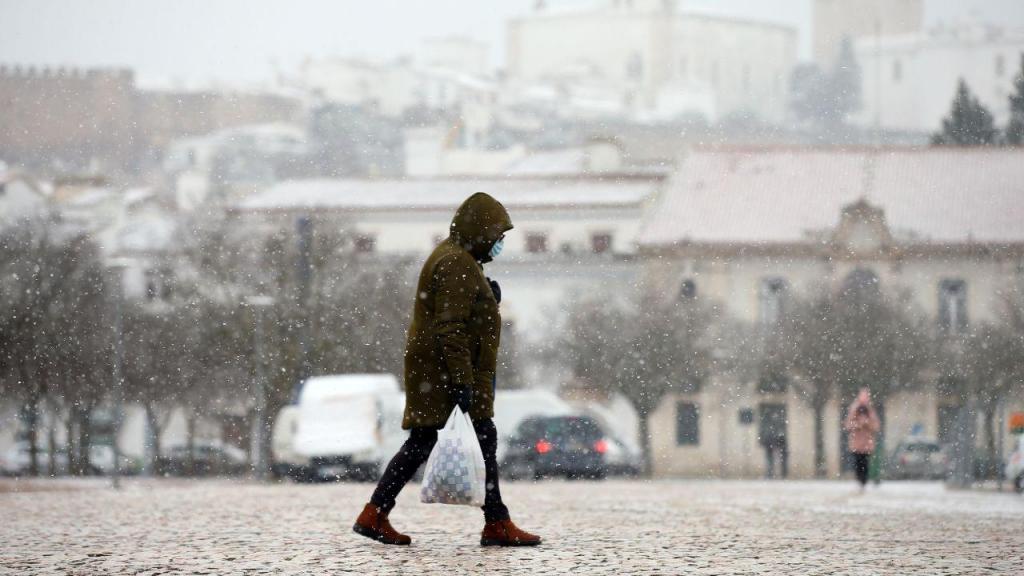 Neve em Estremoz