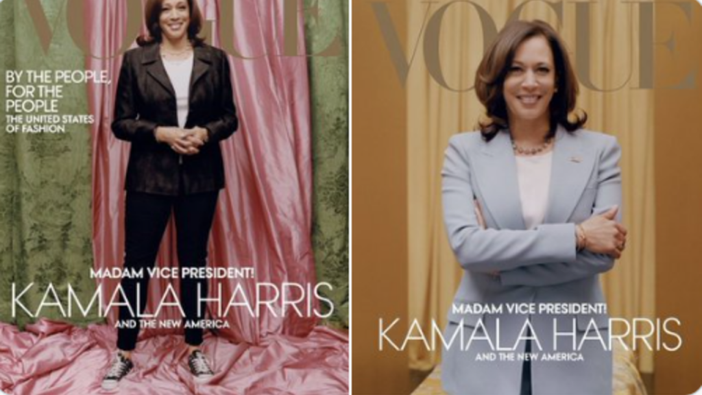 Kamala Harris, Vogue