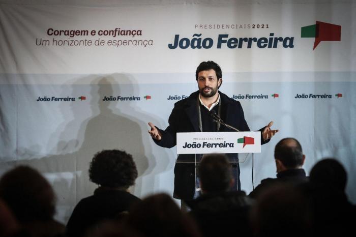 João Ferreira na sessão