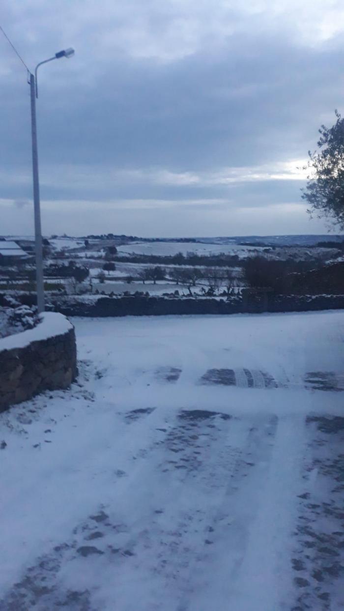 Neve em Urrós, Mogadouro