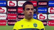 Emanuel Ferro: «Criámos situações suficientes para resolver o jogo»
