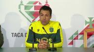 Emanuel Ferro: «Vi os nossos jogadores com a mesma intensidade»
