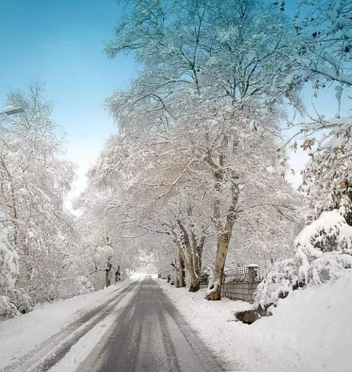 Neve em Castro Laboreiro, Melgaço