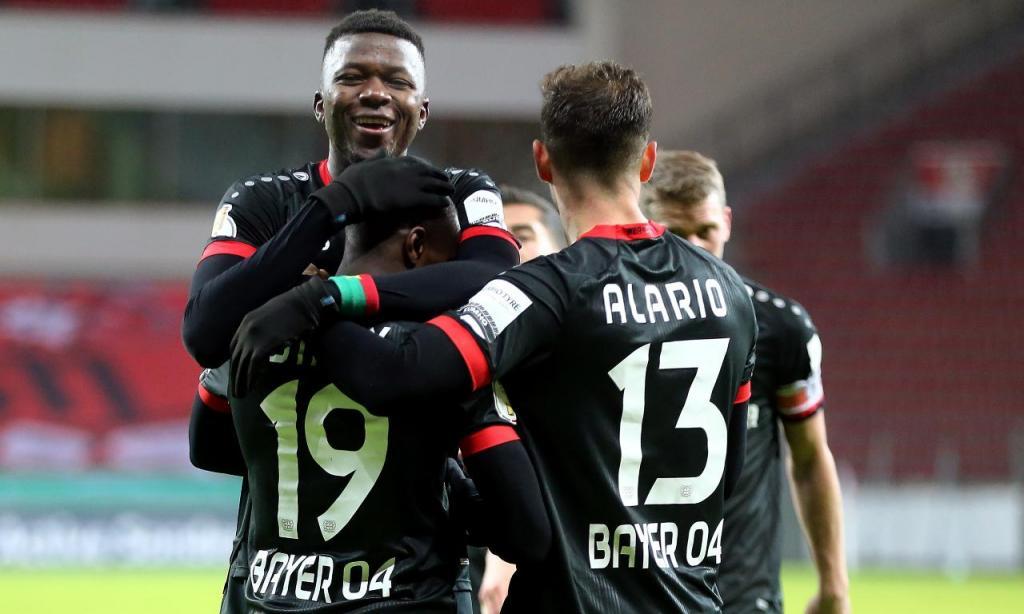 Bayer Leverkusen-Eintracht Frankfurt (Lusa)