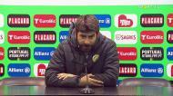 «Ninguém está contente com a derrota, mas estou satisfeito com o grupo»